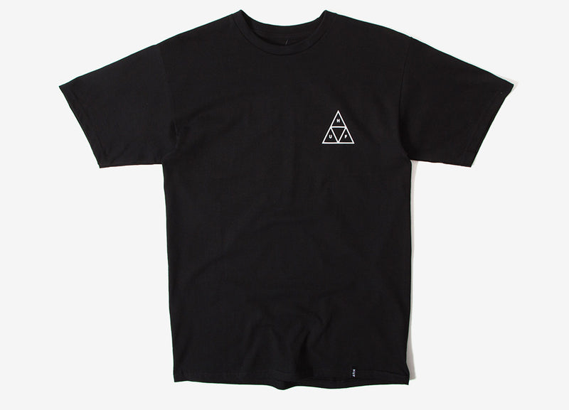 HUF Dystopia Triple Triangle T Shirt - Black