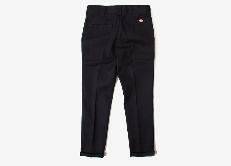 Dickies 872 Slim Fit Work Pant Trousers - Black