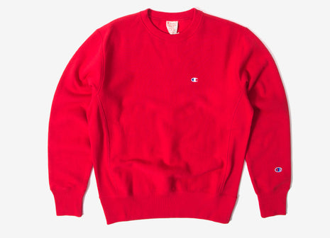 Champion Reverse Weave Sweatshirt - Red