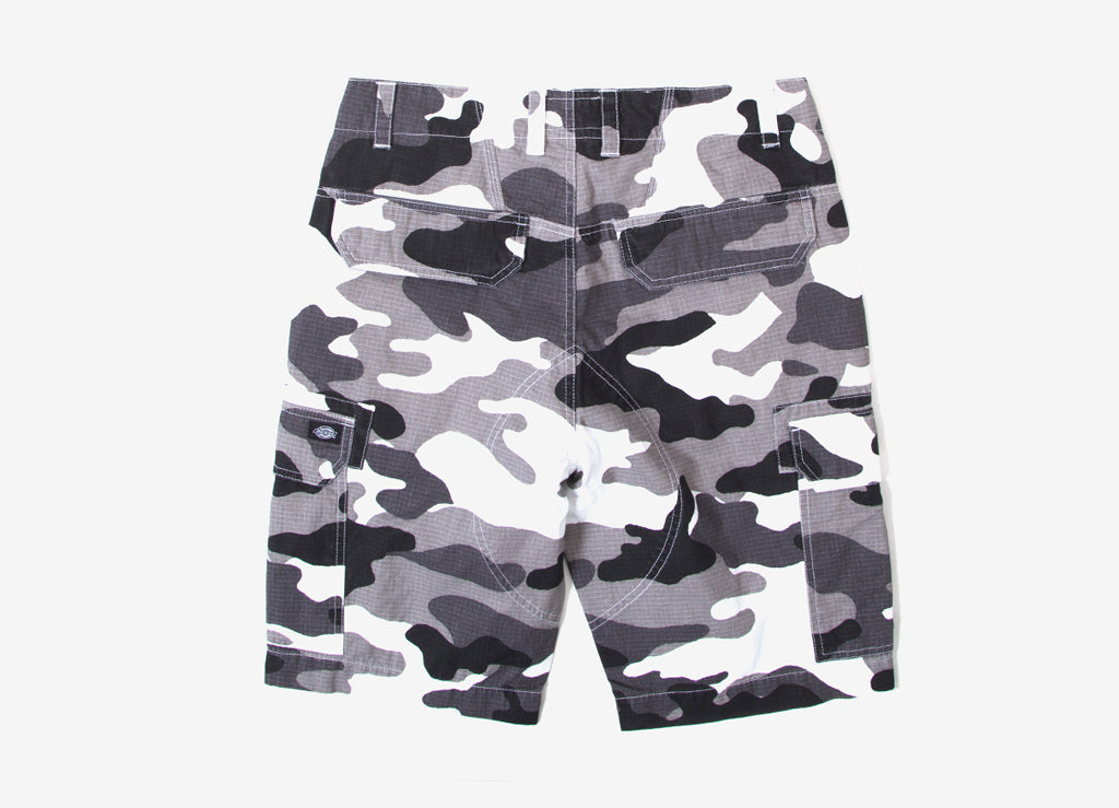 Dickies New York Combat Work Short - White Camo