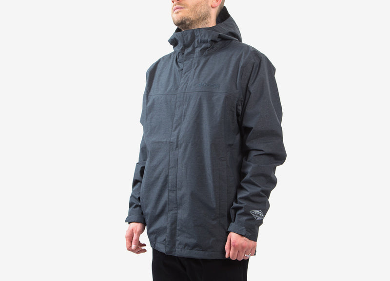 Columbia Diablo Creek Rain Shell Jacket - Shark