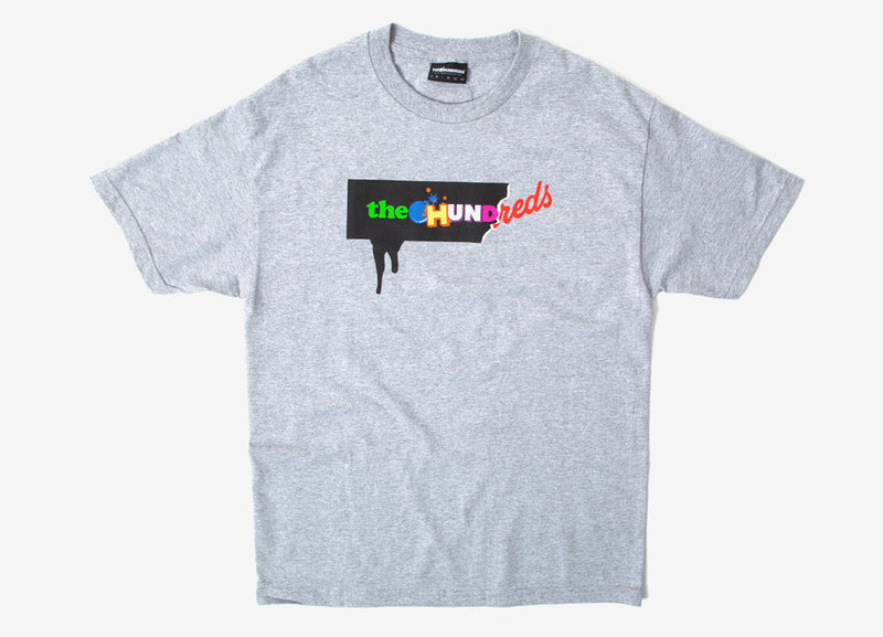 The Hundreds Cut Up T Shirt - Athletic Heather