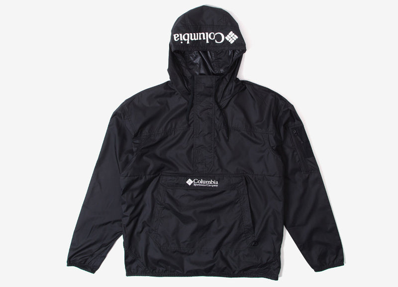 Columbia Challenger Windbreaker Jacket - Black