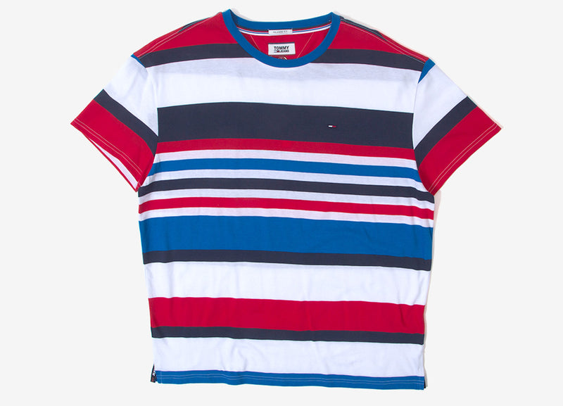 Tommy Jeans Multi Stripe T Shirt - Allover