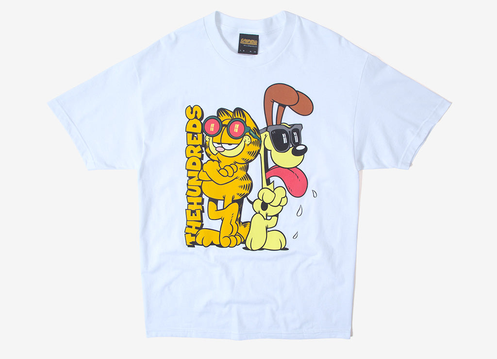 The Hundreds x Garfield Odie T Shirt - White
