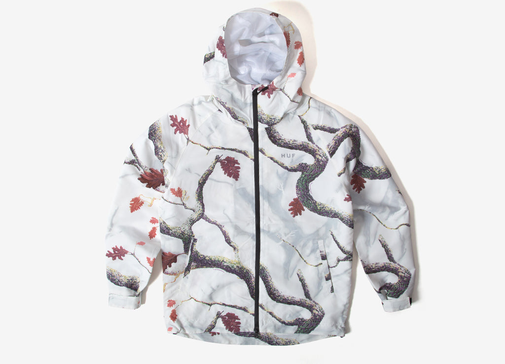 HUF Standard Shell Jacket - White