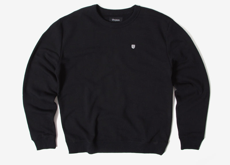 Brixton B-Shield Crewneck Sweatshirt - Black