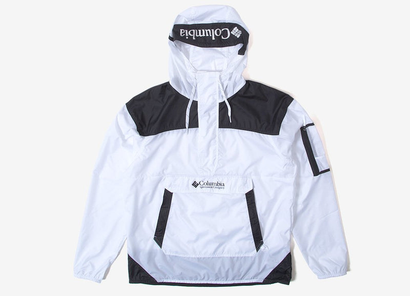 Columbia Challenger Windbreaker Jacket - White