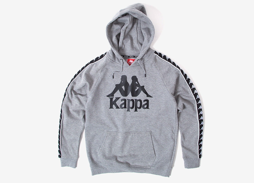 Kappa Hurtado Authentic Hoody - Grey/Black