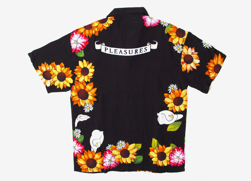Pleasures Gangster Short Sleeve Button Up - Black