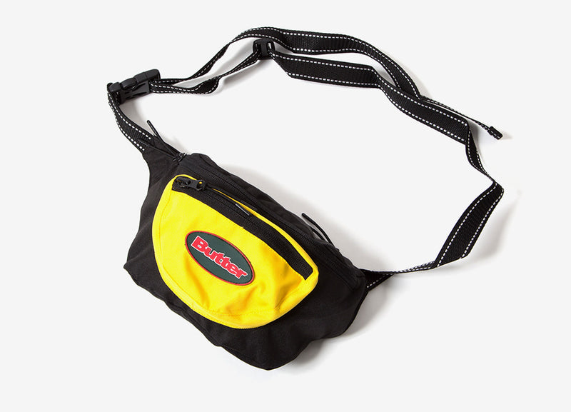 Butter Goods Trail Hip Pack Bag - Black/Yellow