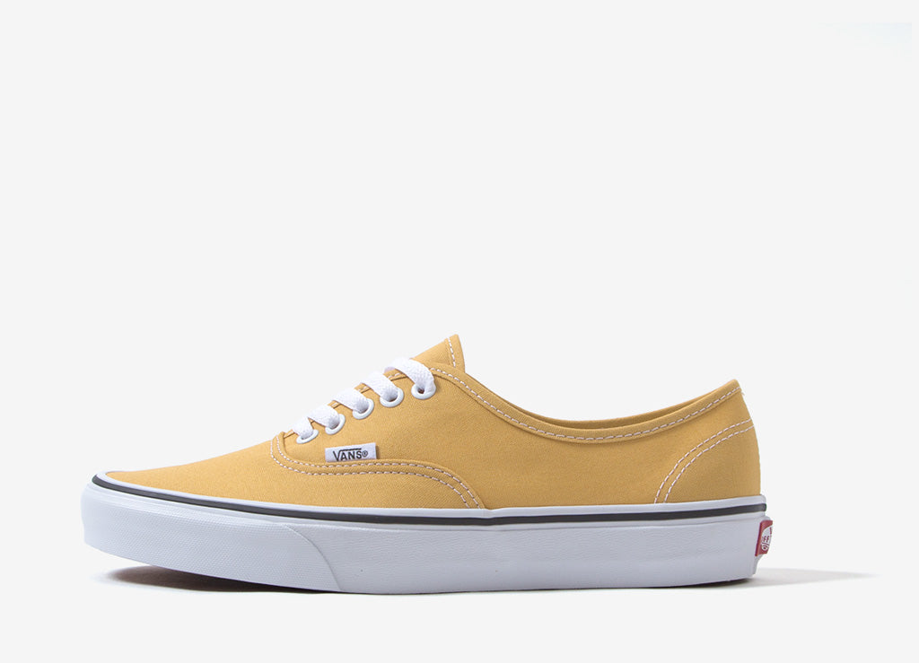 Vans AUTHENTIC - Trainers - ochre/true white mq3ILDHN3