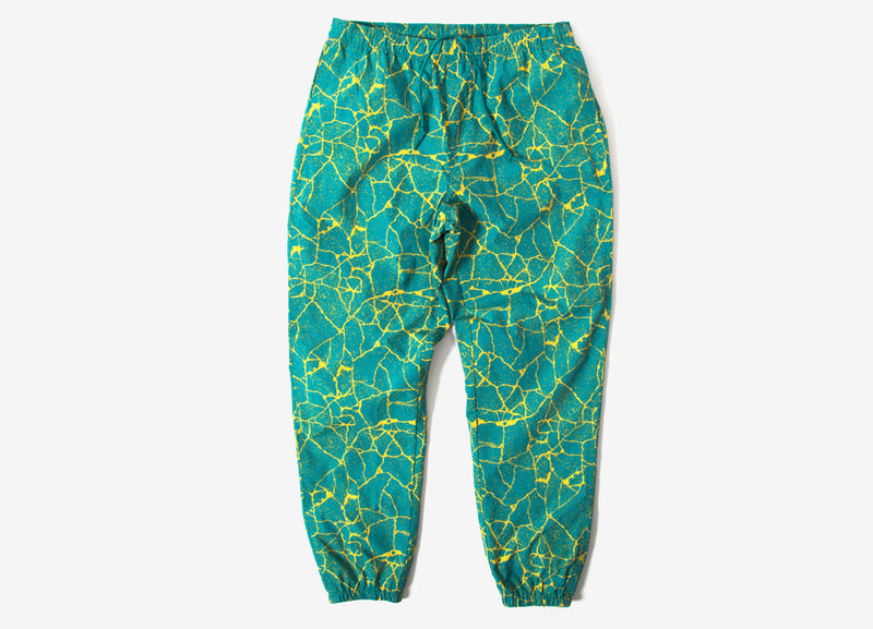 Obey Concrete Easy Pants - Cracked Blue Green