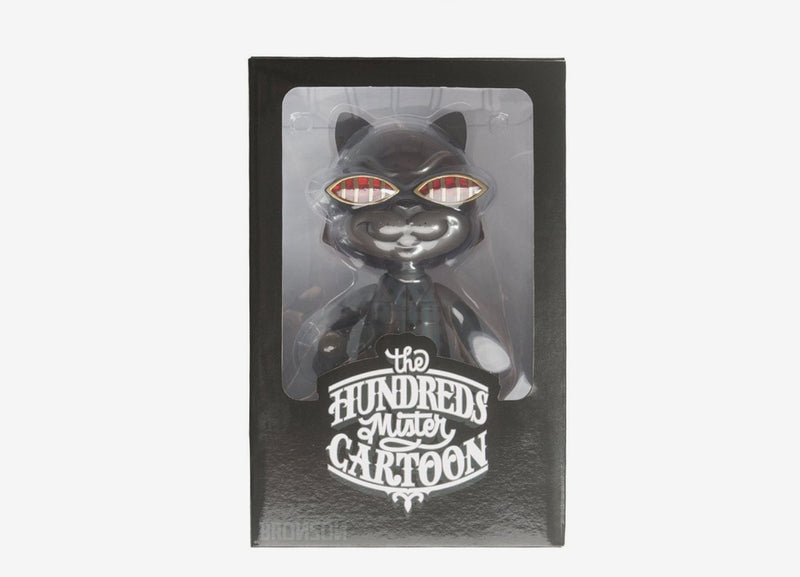 The Hundreds x Mister Cartoon Bronson Vinyl Toy - Black
