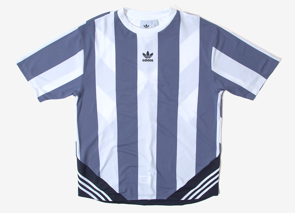adidas Originals Rival Goalie T Shirt - Raw Indigo/White/Legend Ink