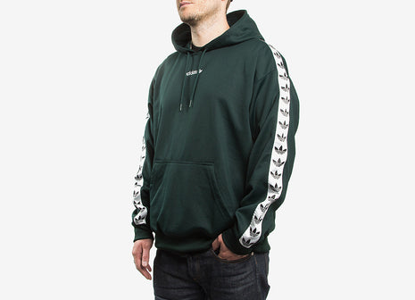 adidas Originals TNT Trefoil Tape Pullover Hoody - Green Night