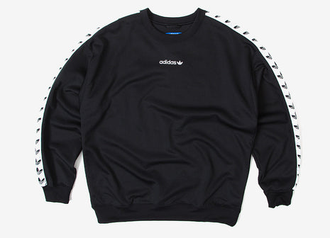 adidas Originals TNT Trefoil Crewneck Sweatshirt - Black White