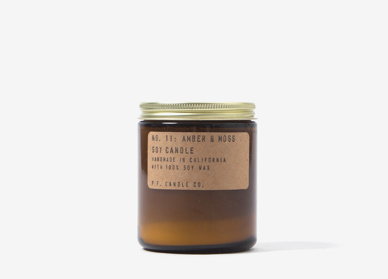 P.F. Candle Co. Amber & Moss Soy Candle - 7.2o/z