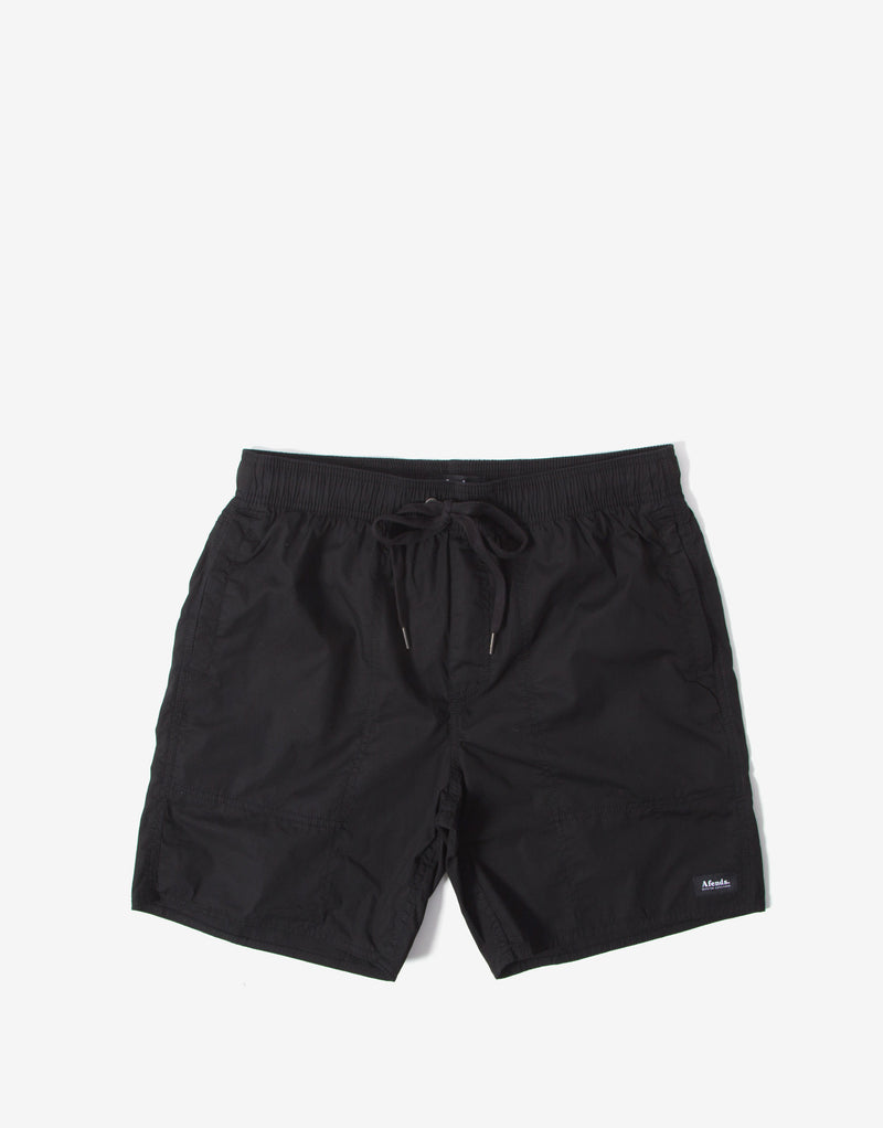 Afends Baywatch Classics Board Shorts - Black