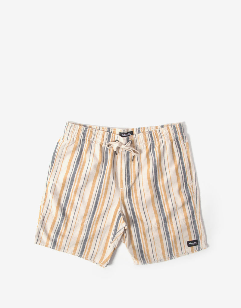 Afends Baywatch Motel Boardshort - Moonbeam