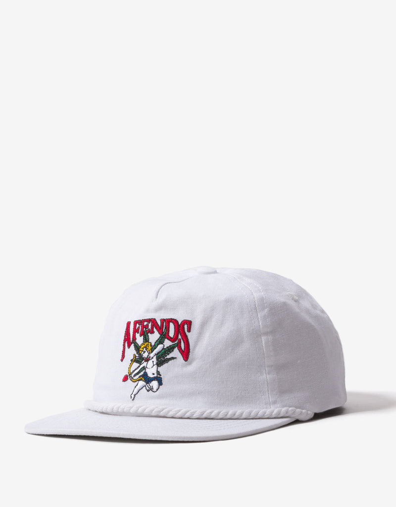 Afends Cupid Hemp Cap - White