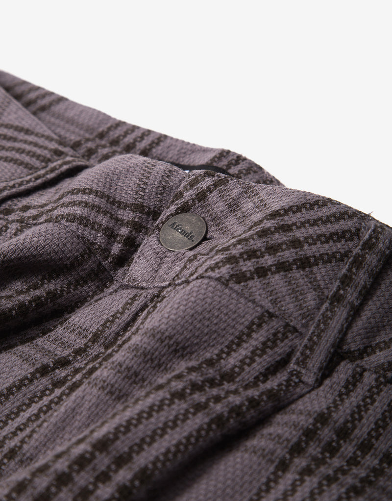 Afends Die Trying Suit Pant - Gunmetal