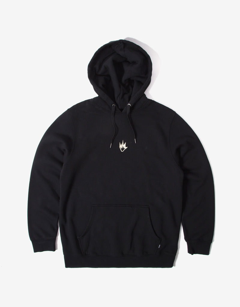 Afends Flame Pullover Hoody - Black