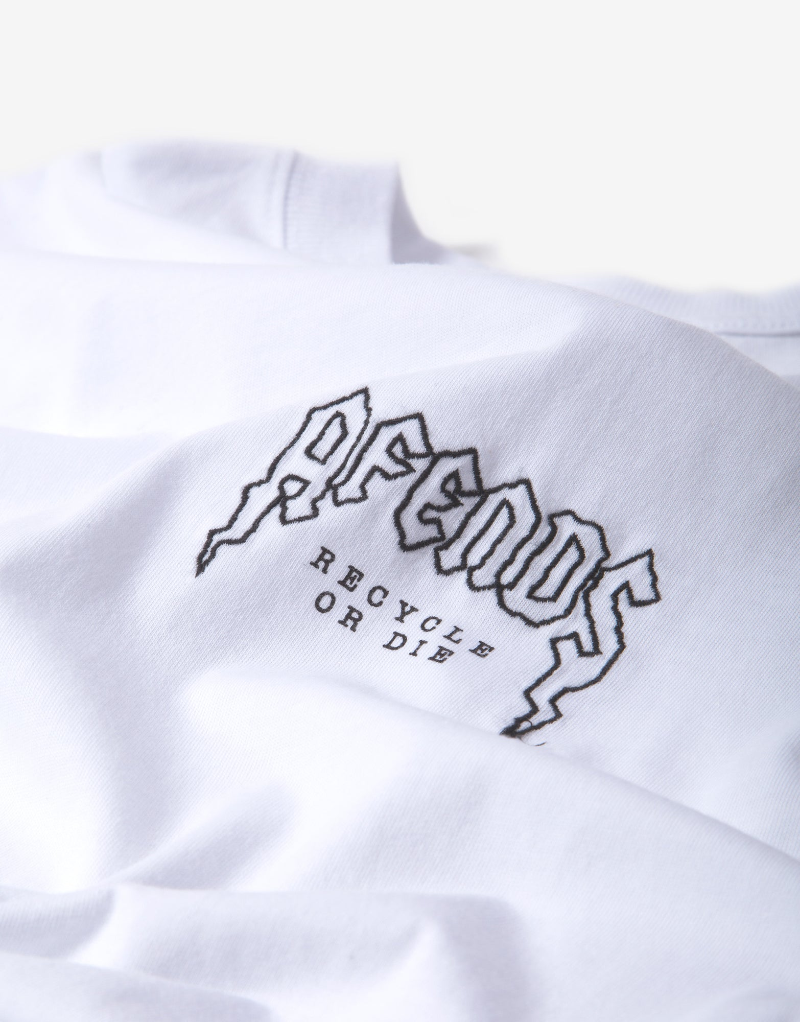 Afends Recycled Retro Fit T Shirt - White