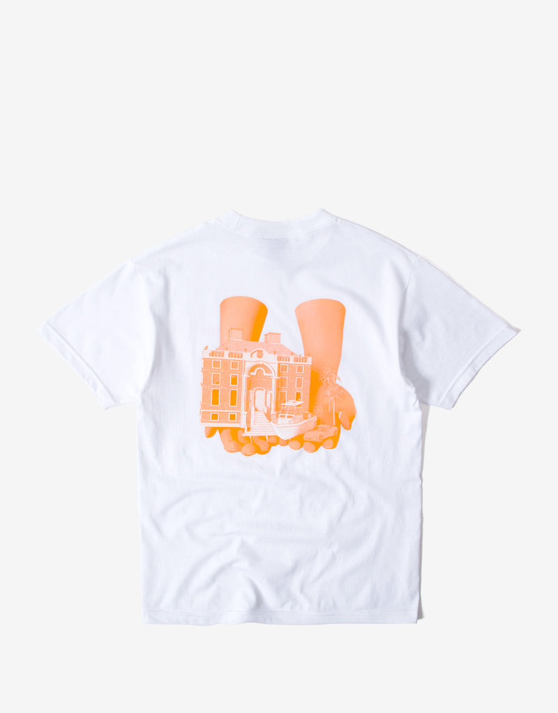 Alltimers Good Hands T Shirt - White