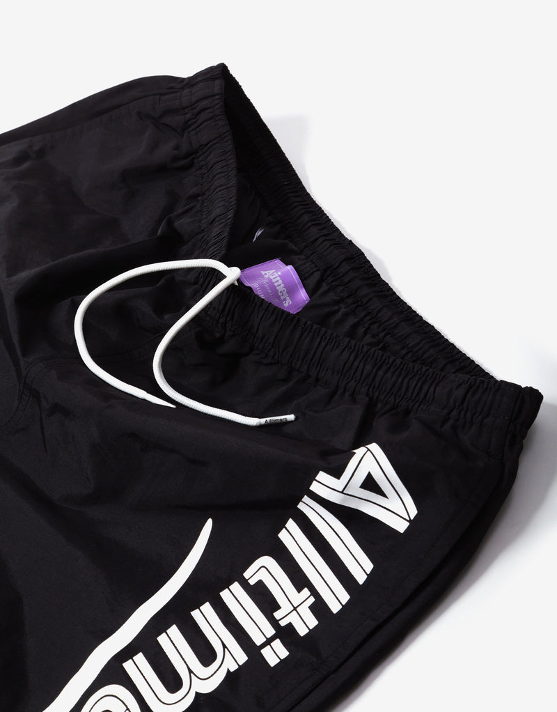 Alltimers Swim Shorts - Black