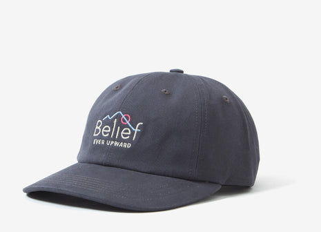Belief Alpine 6 Panel Cap - Charcoal