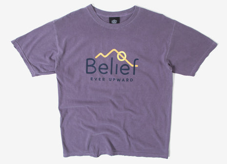 Belief Alpine T Shirt - Wine
