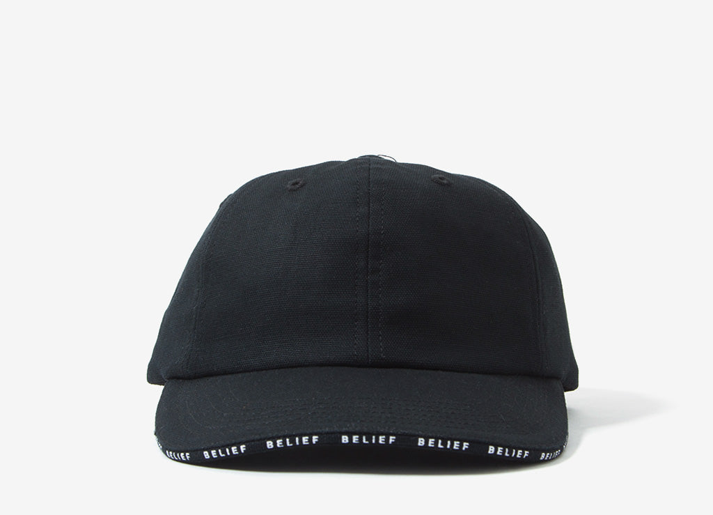 Belief Frontline 6 Panel Cap - Black