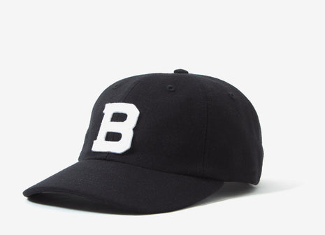Belief Ivy League 6 Panel Cap - Black