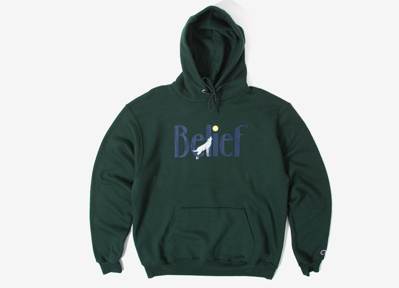 Belief Midnight Champion Pullover Hoody - Forest