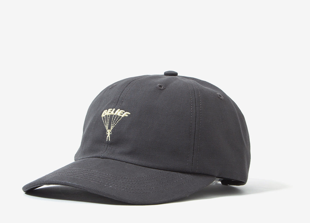 Belief Parachute 6 Panel Cap - Black
