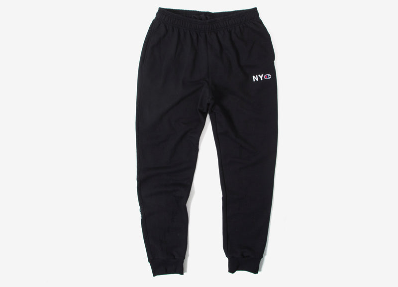 Belief NYC Champion Fleece Sweatpants - Black
