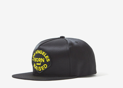 Born X Raised Swat Snapback Cap - Black