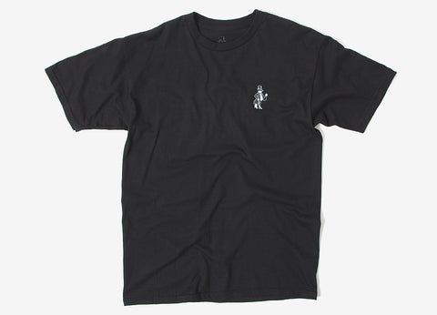 Born X Raised Snooty Fox T Shirt - Black