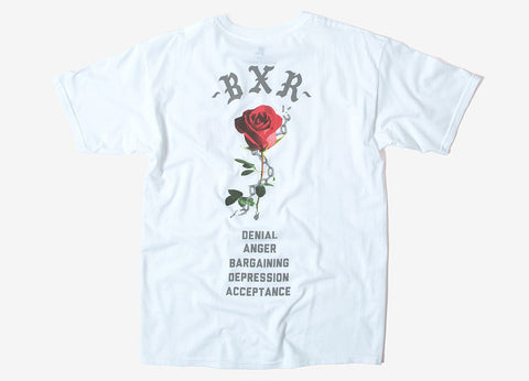 Born X Raised Break Up T Shirt - White