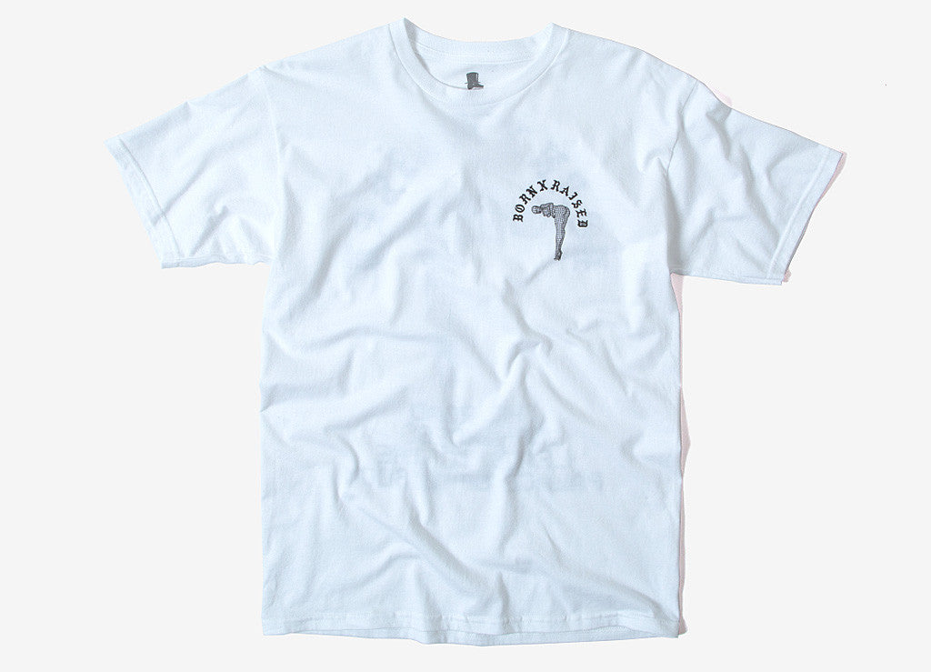 Born X Raised Palace Of Wisdom T Shirt - White