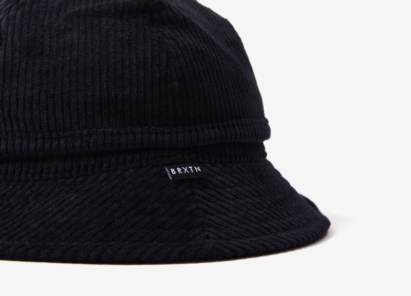 Brixton Banks II Bucket Hat - Black Cord
