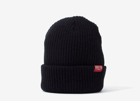 Brixton Redmond Beanie - Black/Red