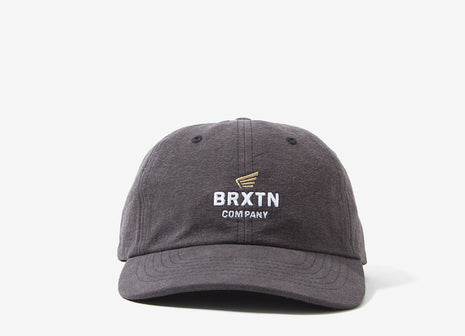 Brixton Peabody 6 Panel Cap - Charcoal