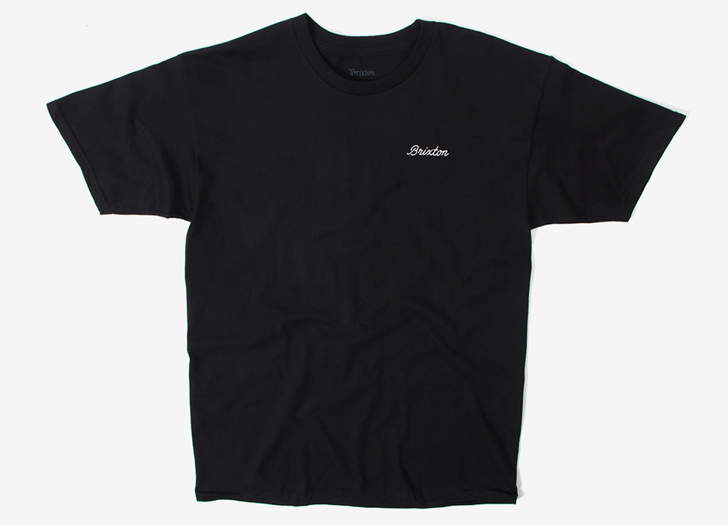 Brixton Dwell T Shirt - Black