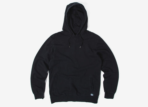 Brixton Hackney Fleece Pullover Hoody - Black