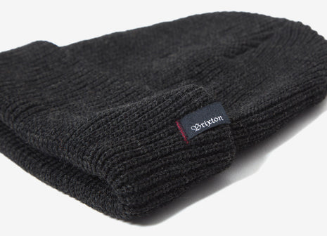 Brixton Heist Beanie - Washed Black