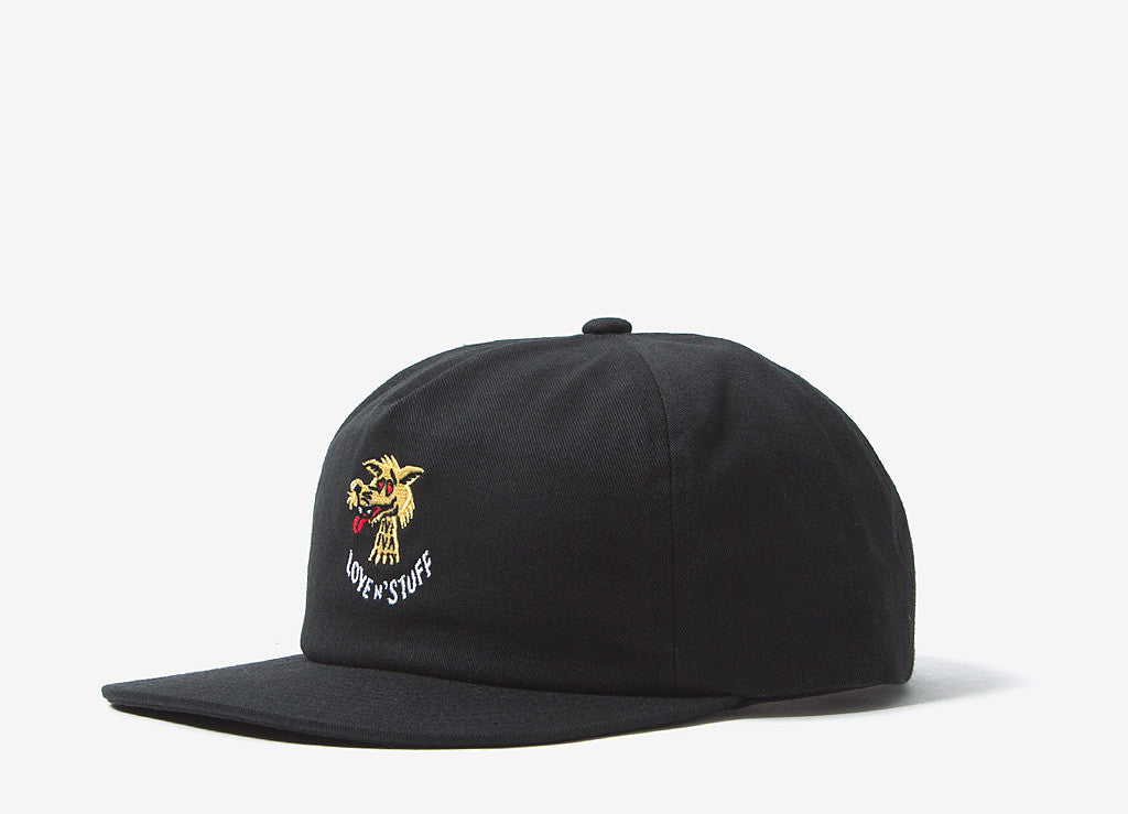 ab118027634 Brixton Lovin Snapback Cap Black at The Chimp Store