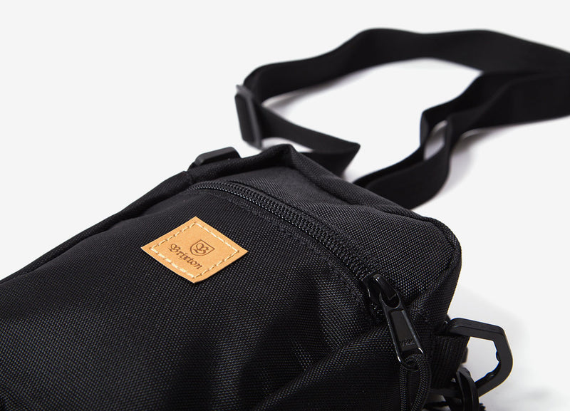 Brixton Main Label Hip Pack - Black