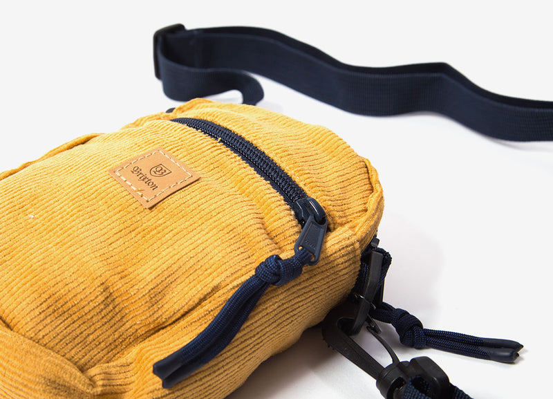 Brixton Main Label Hip Pack - Maize